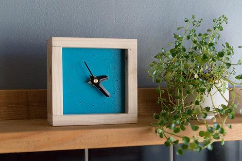 Mini horloge en bois