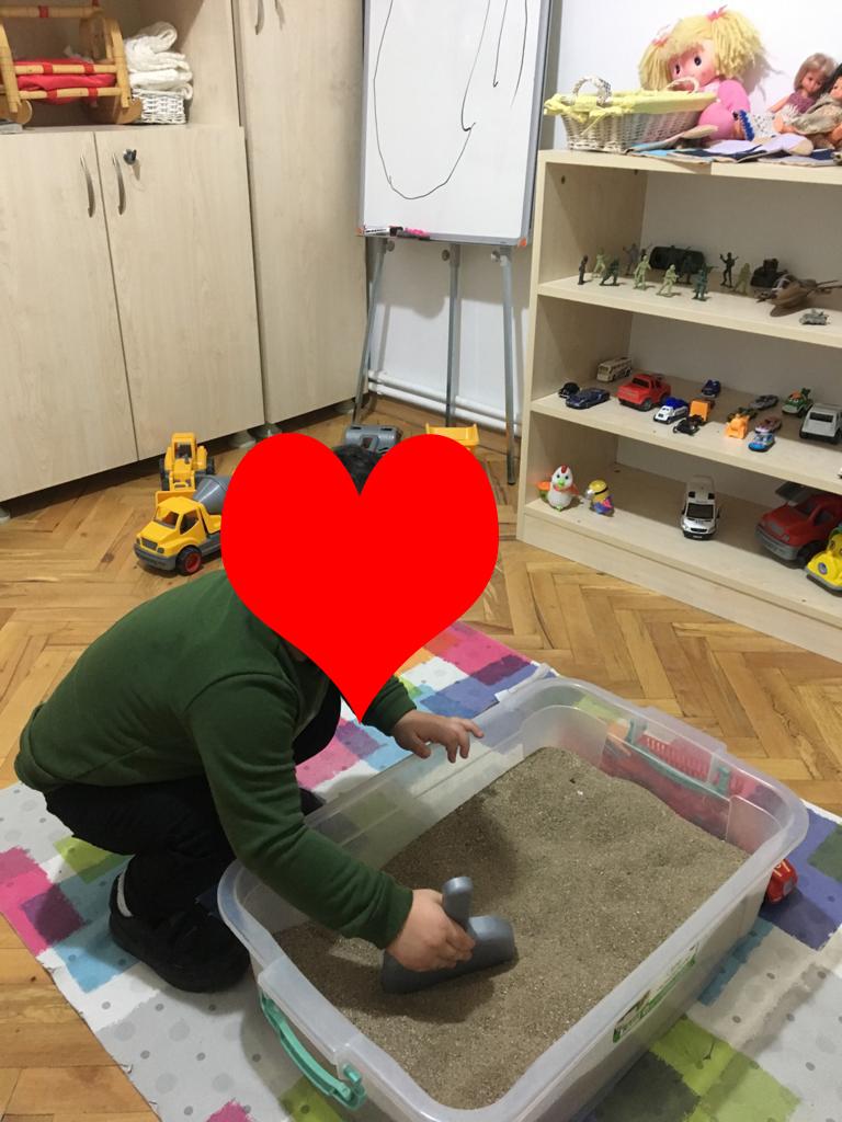Oyun Terapisi odamızdan bir görüntü