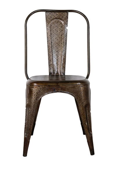 EMBOSSED TOLIX CHAIR