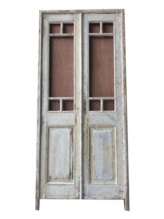 PANEL DOORS WITH GLASS
