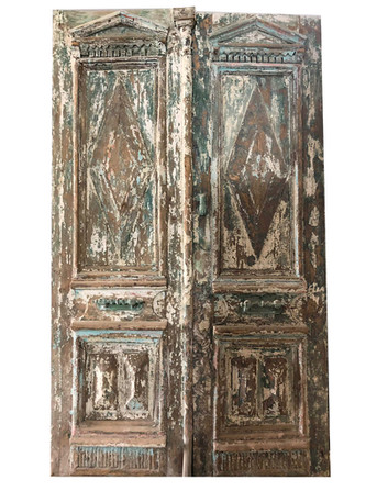 CARVED PAINTED DOORS