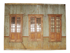 WOOD WALL SECTION