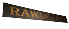 RAWLE & SONS SIGN