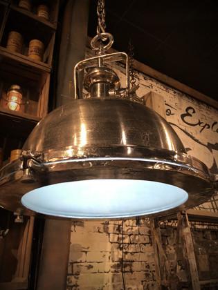 Industrial Metal Hanging Light