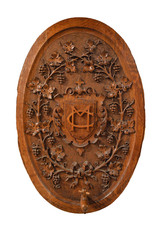 CARVED PLAQUE WITH TAP