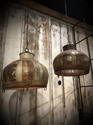 Iron Lamp Cover Pot