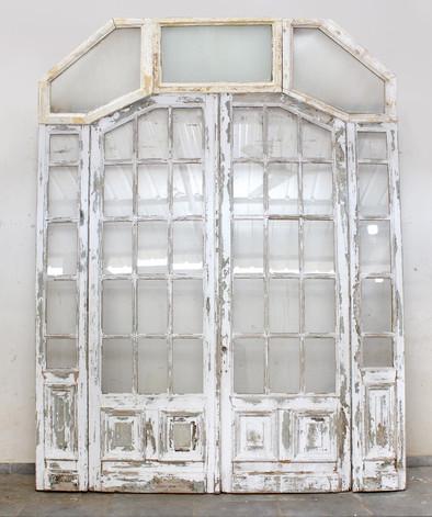 ELEGANT GLASS PANED DOOR
