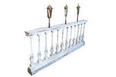 BALUSTER WITH LAMPS