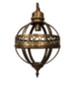 NY Brass Ball Light