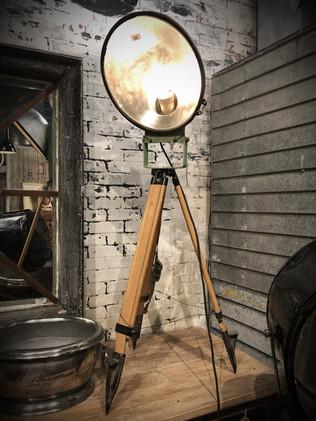Industrial Light on Tripod
