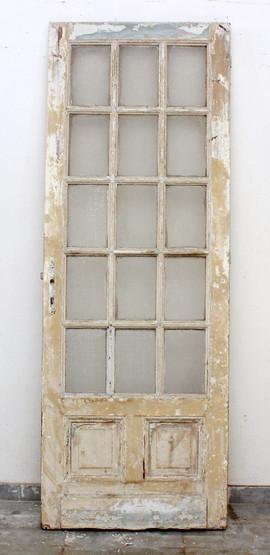 SINGLE GLASS PANED DOOR