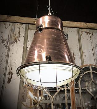 Copper Industrial Light