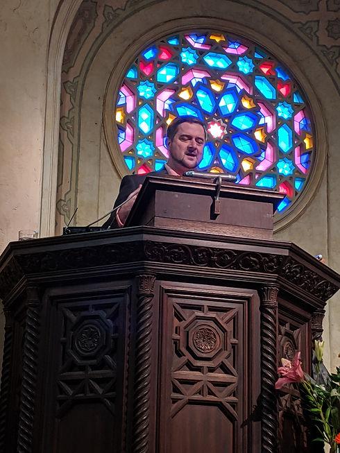 Sermon at Unitarian Society of Santa Barbara on 6.2.19