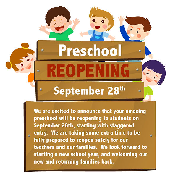 RCCP Preschool Reopening Announcement-01