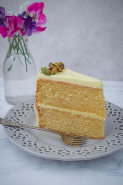 Pineapple & Rum Cake