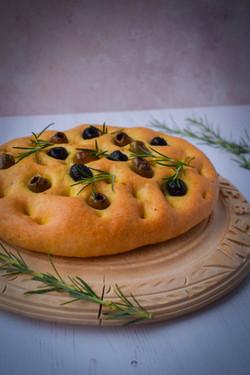 Olive & Rosemary Focaccia