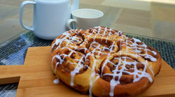 Ginger Cookie Dough Cinnamon Rolls
