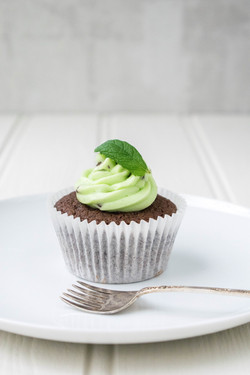 Mint Choc Chip Cupcakes