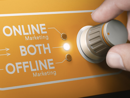 Marketing Online et Offline.