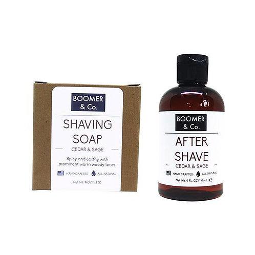Cedar & Sage Shaving Kit