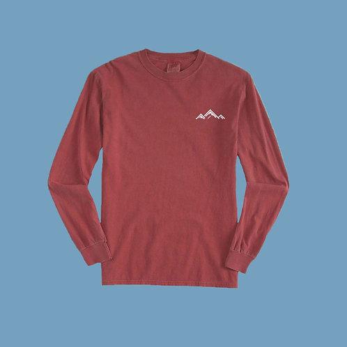 Crimson Red long sleeves