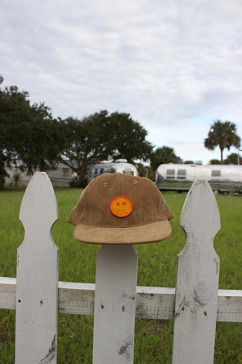 TAN CORDUROY HAT