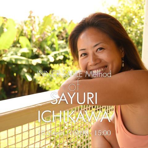 日常生活に笑顔を増やすための市川さゆり流メソッドを学ぶ5時間のスマイルワークショップ『Sayuri's smile method』