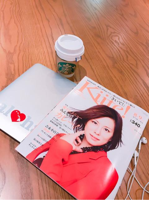笑顔インフルエンサー®市川さゆり 連載中『Kiite!8・9月号』が発売されました⭐︎