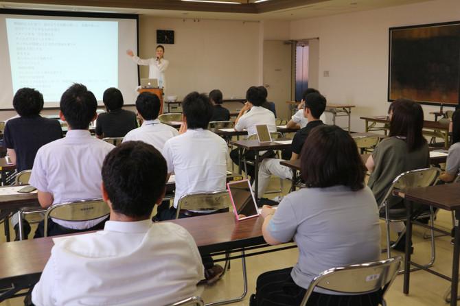 鳥取県米子市役所にて『コミュニケーションと笑顔トレーニングセミナー』開催
