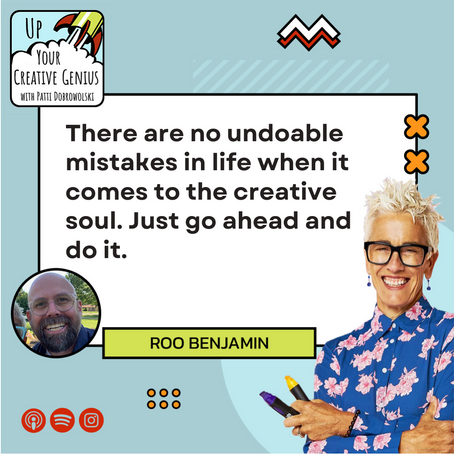 Episode 3: Roo Benjamin   How to reinvent yourself to be a writer and start publishing content