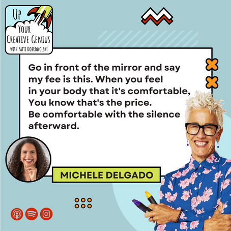 Episode 2: Michele Delgado   How to pivot your career and take the big leap to become a consultant