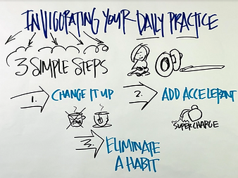 Invigorating Your Daily Practice in 3 Simple Steps