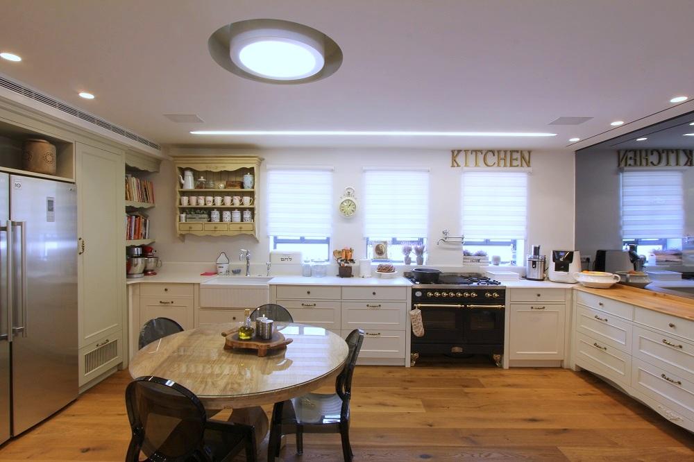 עיצוב מטבח בסגנון כפרי - מעצבת מטבחים