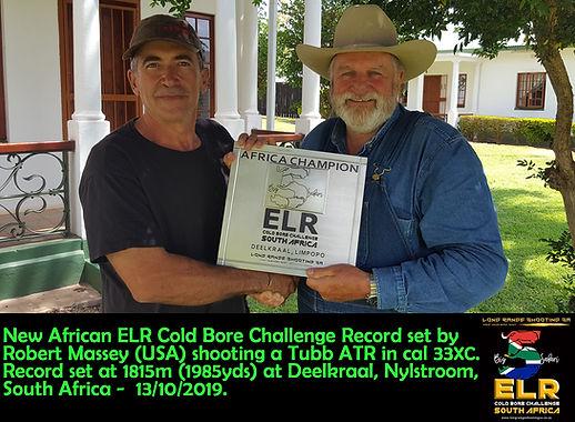 Robert Massey ELR Cold Bore Challenge Ch
