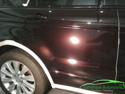Range Rover évoque rénovation intéri