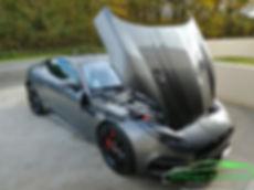 prestation extérieur esthetique automobile jaguar f-type R