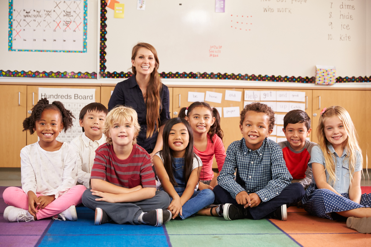 Elementary White Woman Teacher