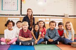 Elementary White Woman Teacher
