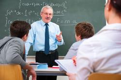High School White Male Teacher