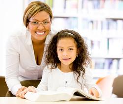 Hispanic Woman Teacher