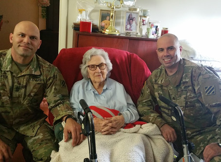 Thanksgiving surprise for our veterans