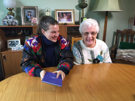 In with the old: the book project bringing generations together
