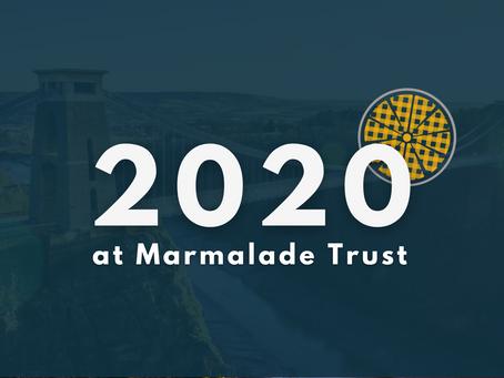 2020 - an unforgettable year
