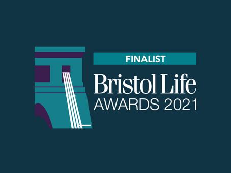 We're Bristol Life Awards finalists!