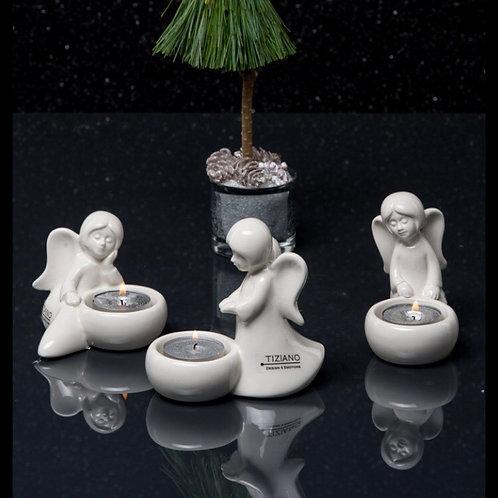 Engel 'Nora' mit Licht