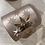Thumbnail: Teelichthalter Rosa mit Sternen
