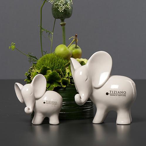 Elefant 'Leon' - Rüssel seitlich