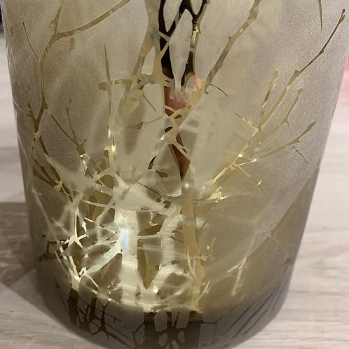 Teelichthalter 'Goldene Zweige'
