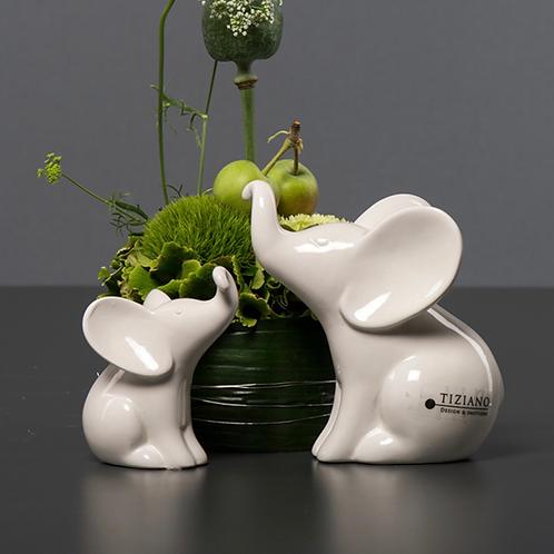 Elefant 'Leon' - Sitzend