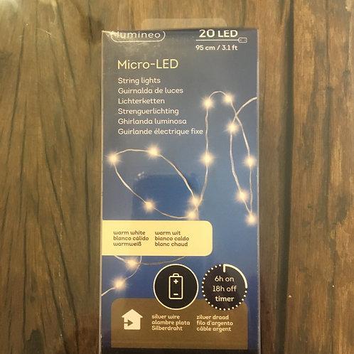 Lichterkette mit Micro-LED
